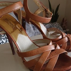 Michael Kors strappy high heel shoes